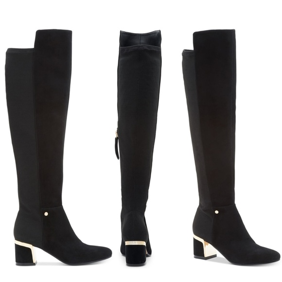 a5303923021 DKNY Cora Knee Boots size 9
